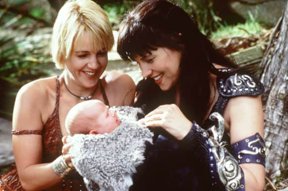 Lucy Lawless Renée O'Connor Xena