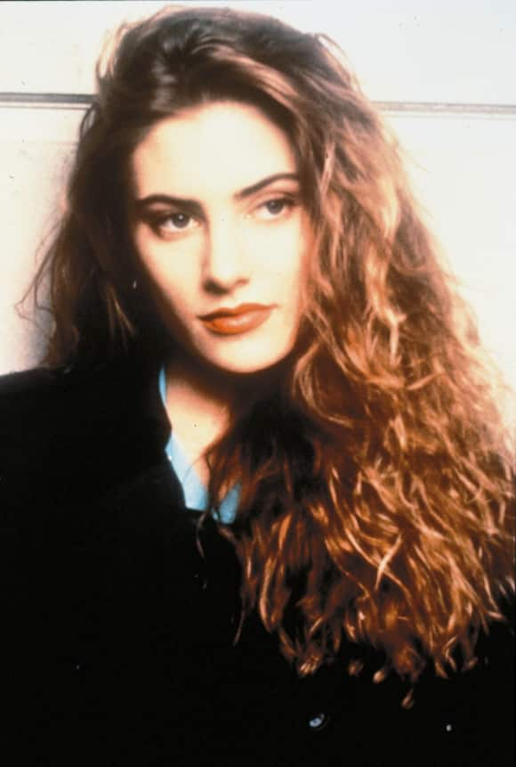 """Mädchen Amick played """"Shelly Johnson"""" in """"Twin Peaks"""""""