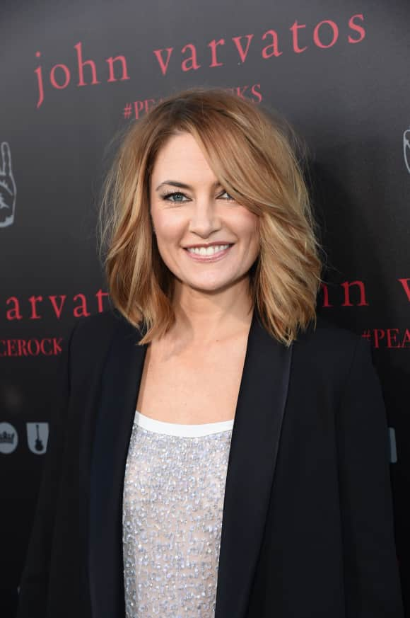 """""""Twin Peaks"""" star Mädchen Amick today"""