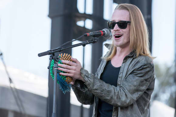 """Home Alone"" star Macaulay Culkin in 2014"