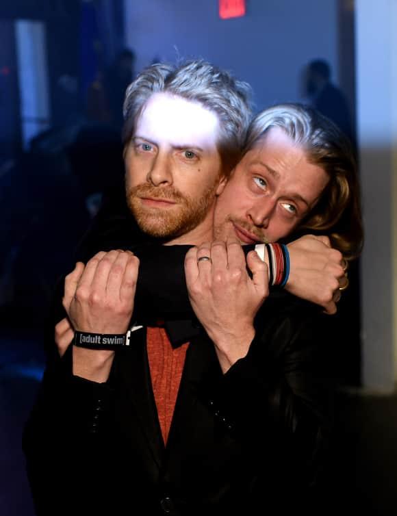 Macaulay Culkin and Seth Green