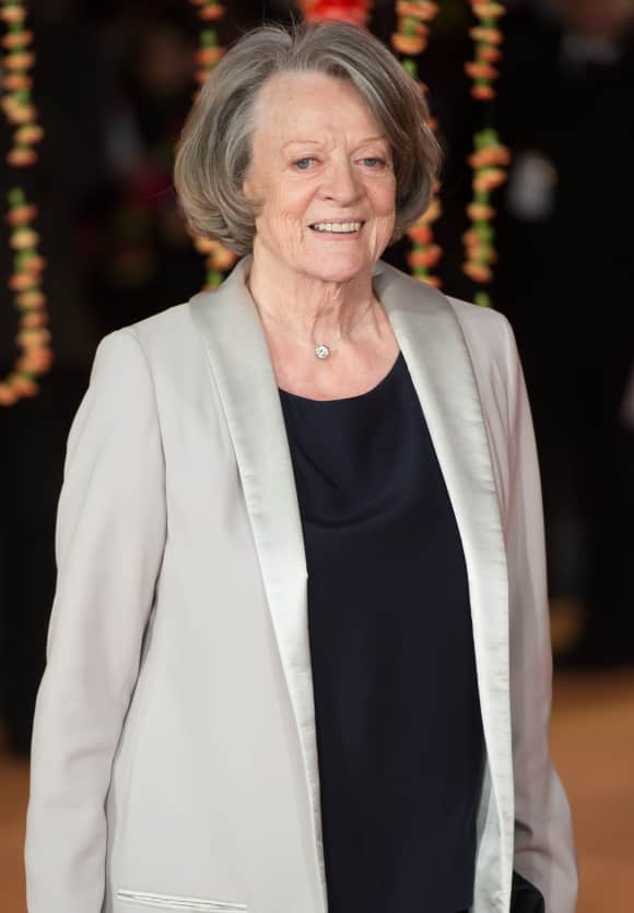 "Maggie Smith played ""Violet Crawley"" in ""Downton Abbey"""