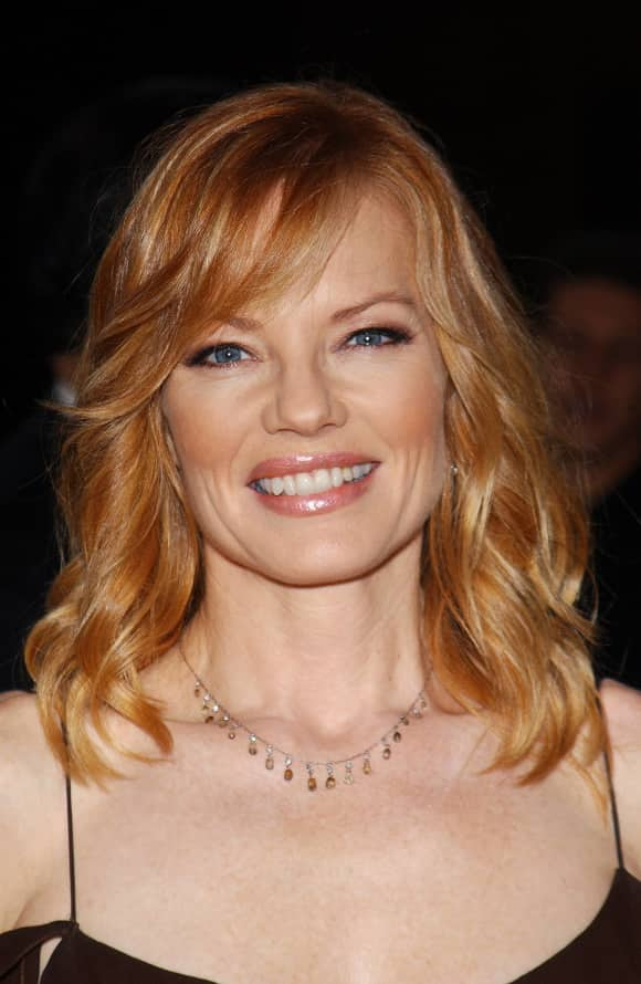 """CSI"" star Marg Helgenberger"