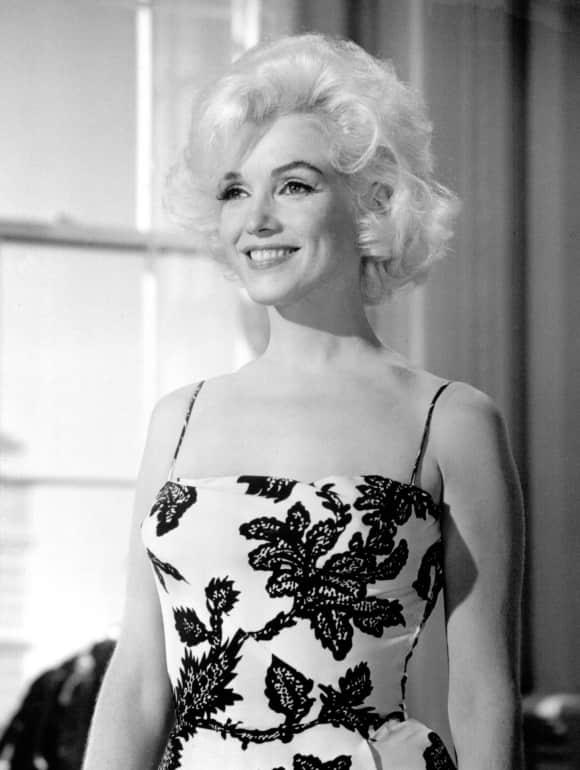 Marilyn Monroe Sex symbol Blond 1962