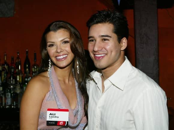 Mario Lopez und Ali Landry