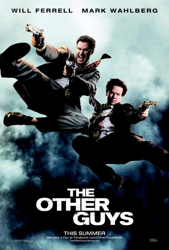 "Will Ferrell and Mark Wahlberg in ""The Other Guys"""