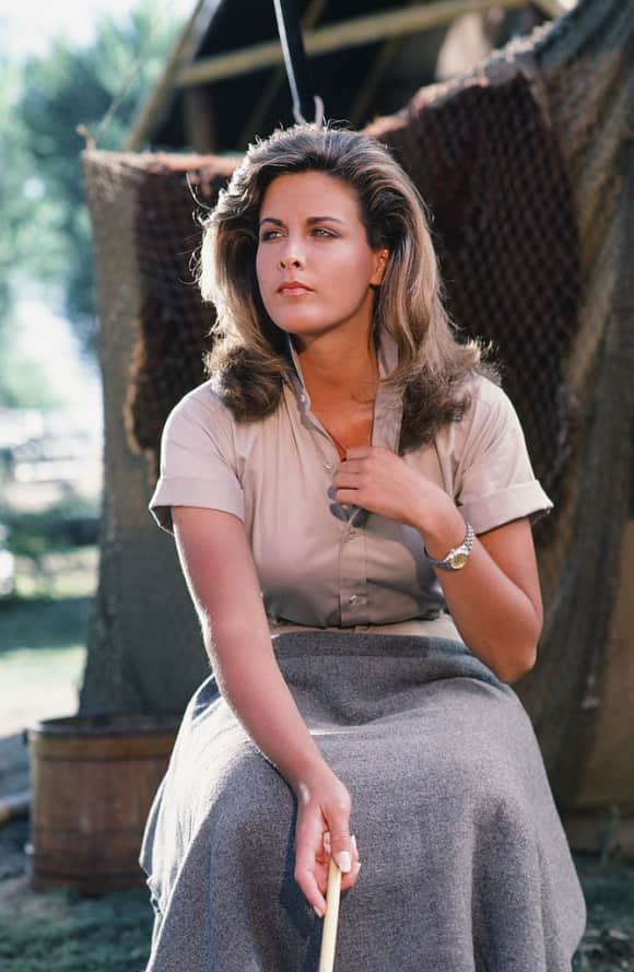 "Marla Heasley as ""Tawnia Baker"" in ""The A-Team"""