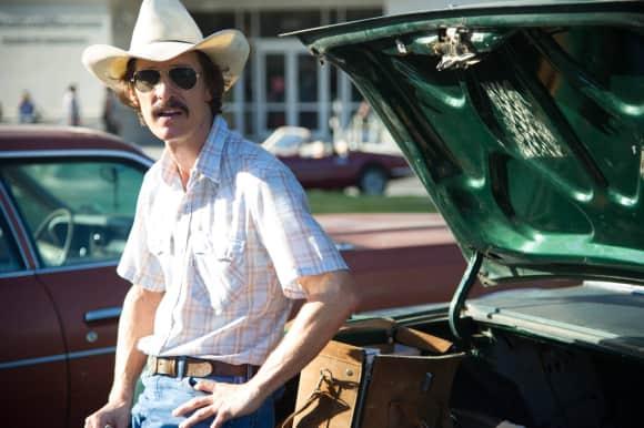 """Matthew McConaughey in """"Dallas Buyers Club"""""""
