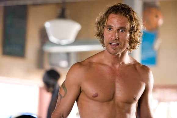 "Matthew McConaughey in ""Fool's Gold"""
