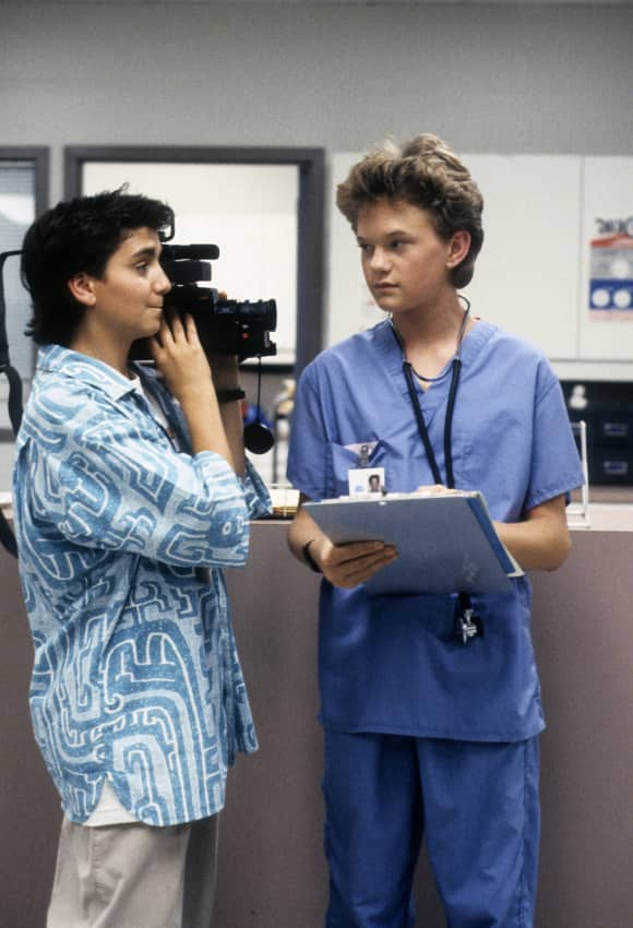 "Max Casella and Neil Patrick Harris in ""Doogie Howser"""
