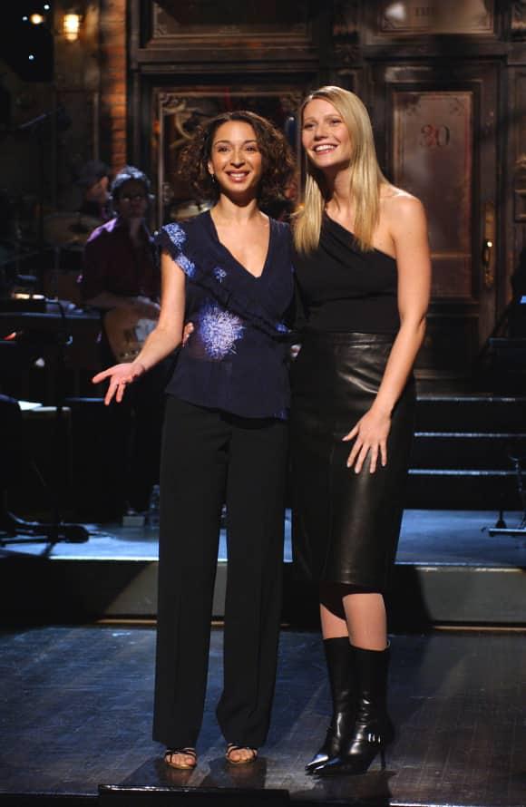 Maya Rudolph und Gwyneth Paltrow sind zusammen in die Schule