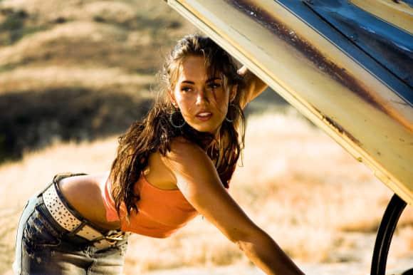 "Megan Fox in ""Transformers"""