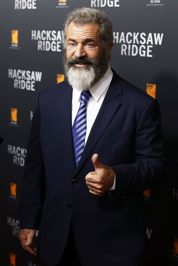 Mel Gibson with a full-grown beard