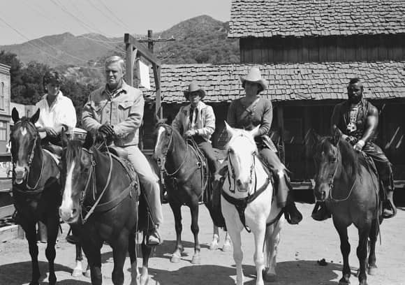 "The ""A-Team"" on horseback"