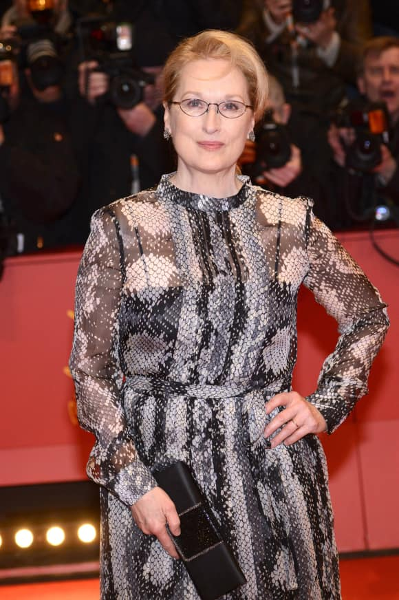 Meryl Streep at the Berlin Film Festival