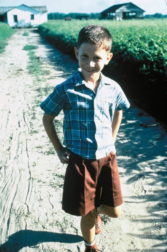 "Michael Conner Humphreys as young ""Forrest Gump"""
