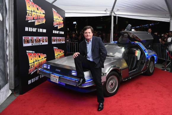 Zurück in die Zukunft Star Michael J. Fox