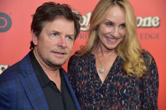 Michael J Fox Tracy Pollan Frau Parkinson
