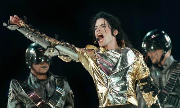 Michael Jackson im Jahr 1997