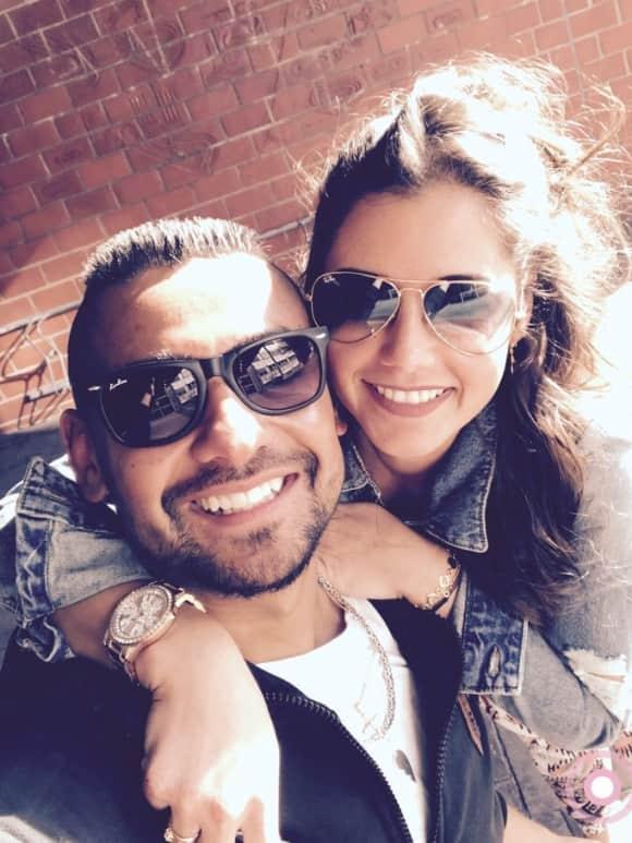 Michal T. und Sarah Lombardi zeigen sich super verliebt