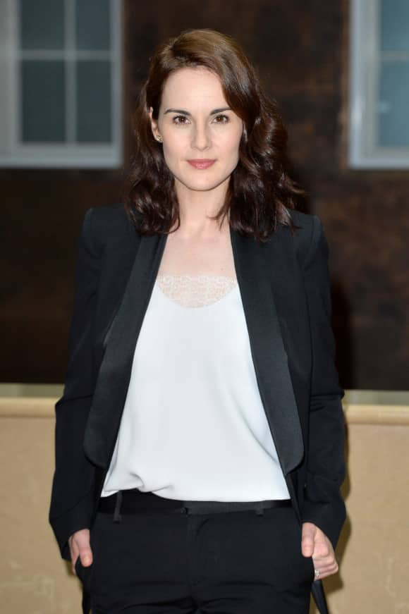 "Michelle Dockery played ""Lady Mary"" in ""Downton Abbey"""