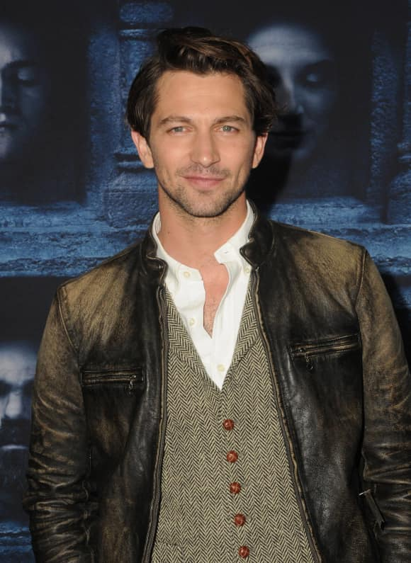 """Michiel Huisman at the premiere of the six season of """"Game Of Thrones"""""""