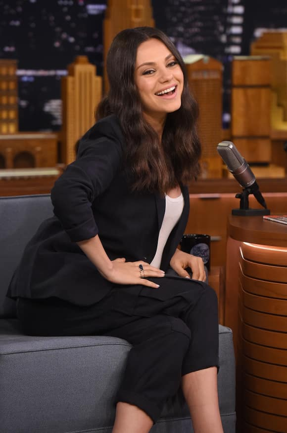 """Mila Kunis bei der """"Tonight Show"""""""