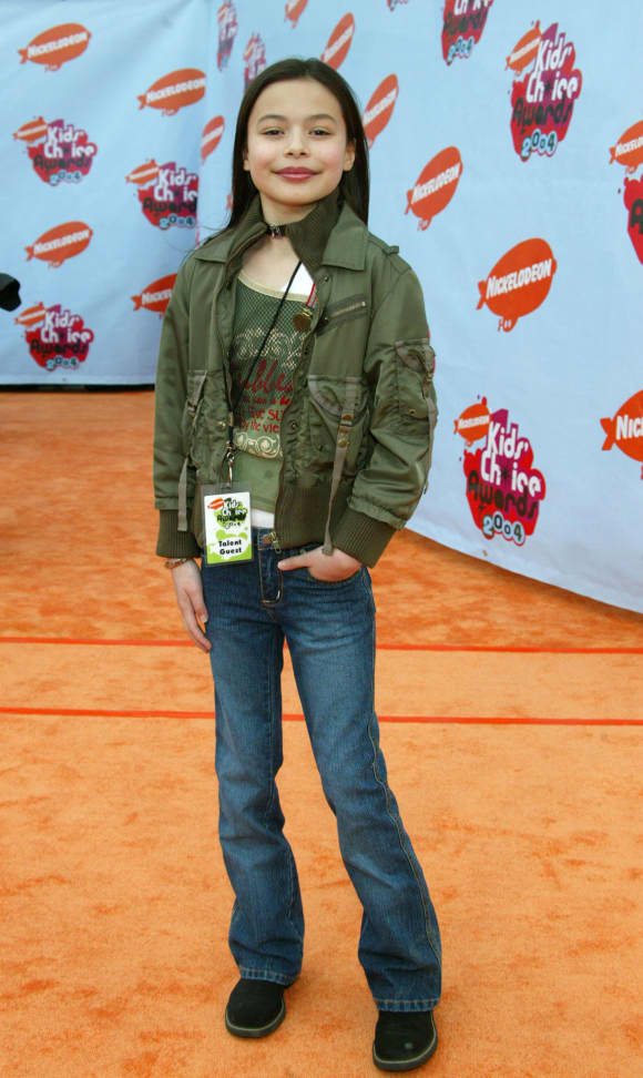 """Miranda Cosgrove auf der 17. """"Kids Choice Awards""""- Veranstaltung von Nickelodeon"""