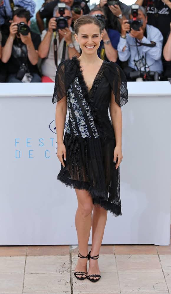 Natalie Portman: Unterwäscheblitzer in Cannes.