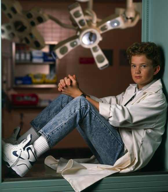 "Neil Patrick Harris playing the role of ""Doogie Howser"""