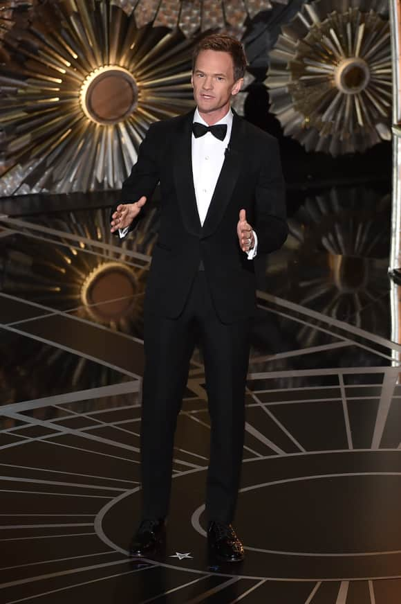 Neil Patrick Harris hosting the Oscars