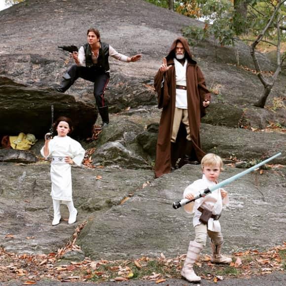 Neil Patrick Harris begeisterten an Halloween erneut mit einer Familien-Verkleidung