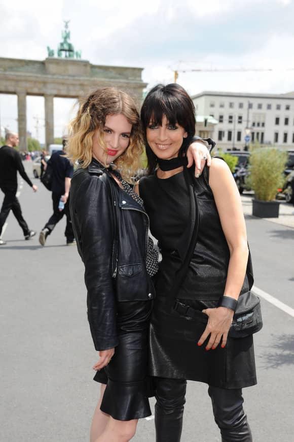 Sängerin Nena und ihre Tochter Larissa Freitag