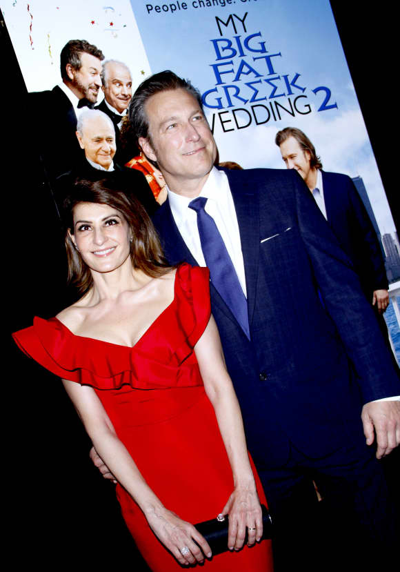 My Big Fat Greek Wedding stars Nia Vardalos & John Corbett