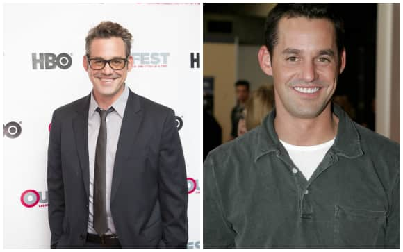 Nicholas Brendon and his brother Kelly Donavan