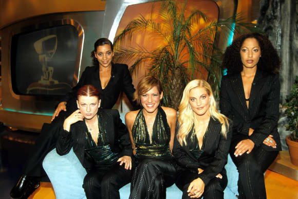 No Angels 2001 zu Gast bei Stefan Raab