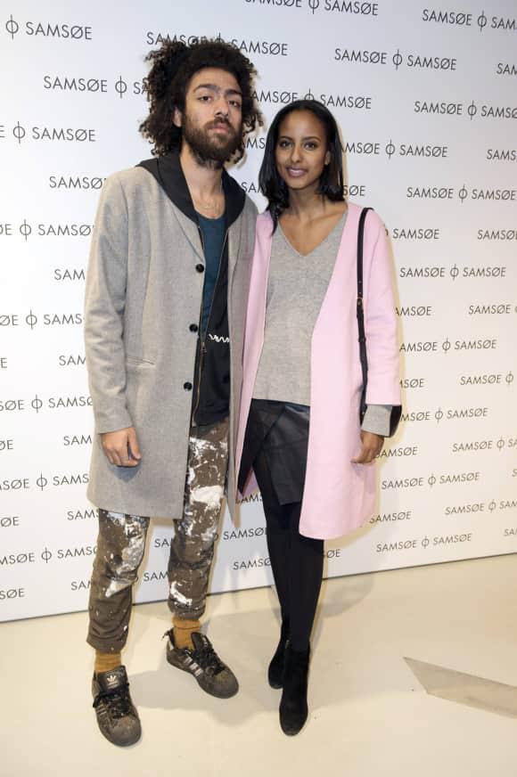Noah Becker und Sara Nuru auf der Berliner Fashion Week