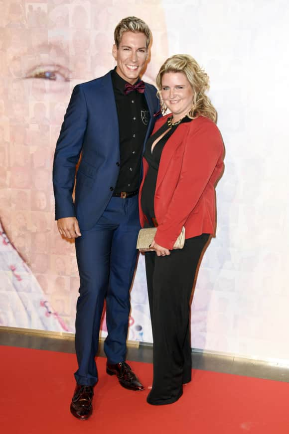Norman Langen mit seiner Verlobten Verena