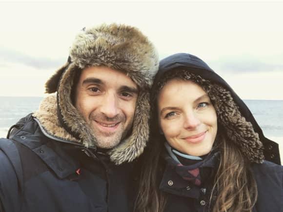Oliver Wnuk und Yvonne Catterfeld genießen eine Auszeit auf der schönen Insel Sylt