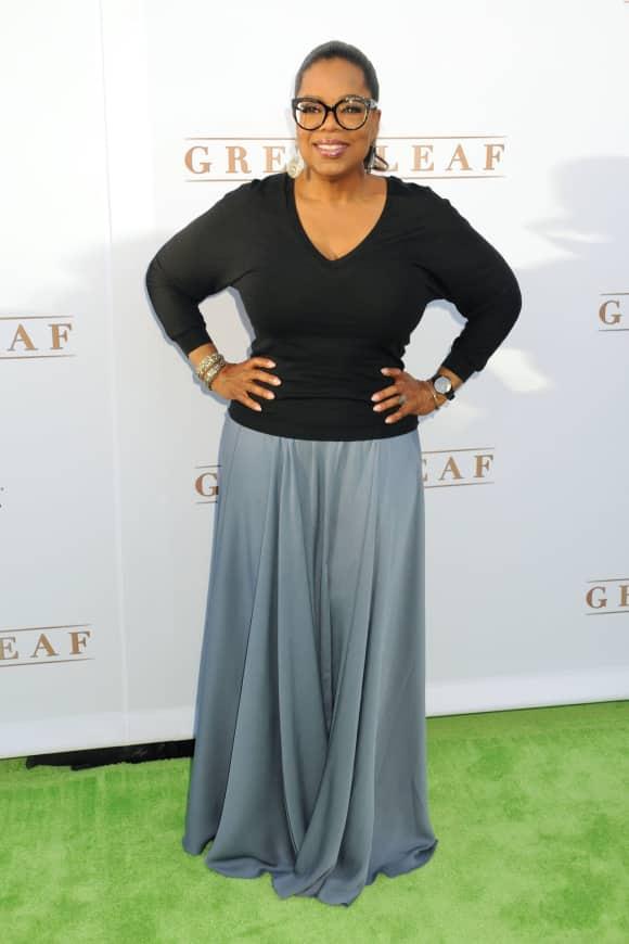 TV show host Oprah Winfrey