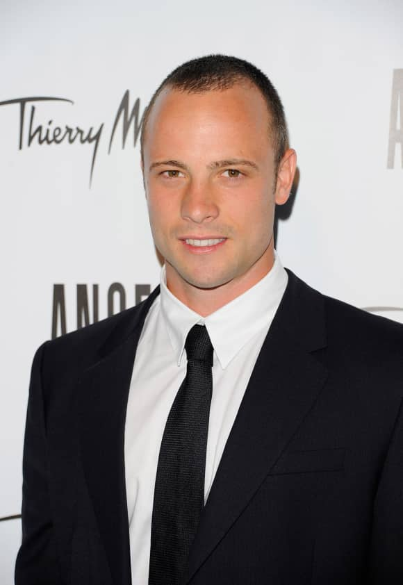 Oscar Pistorius beim Angel by Thierry Mugler Launch in New York