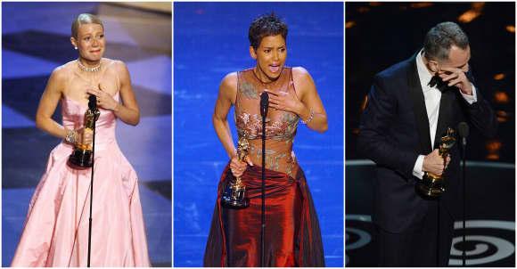 Oscar: Stars in Tränen