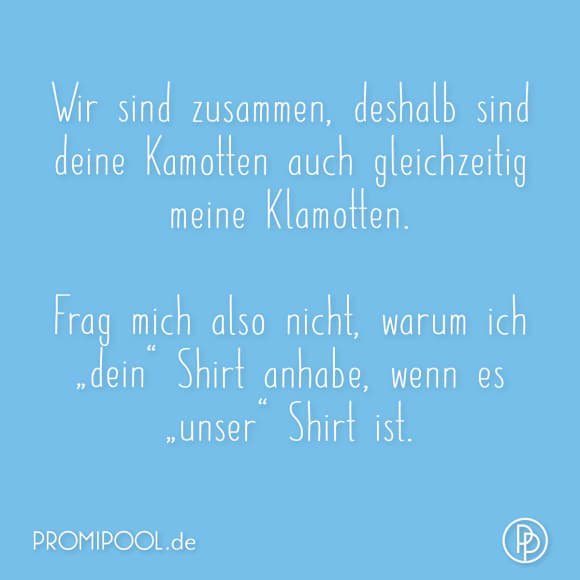 Promipool-Spruch des Tages