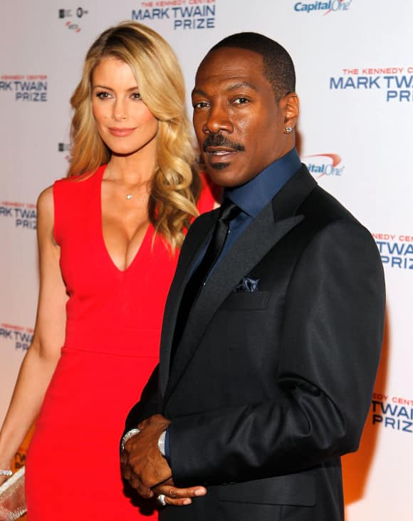 Eddie Murphy and his lovely girlfriend Paige Butcher