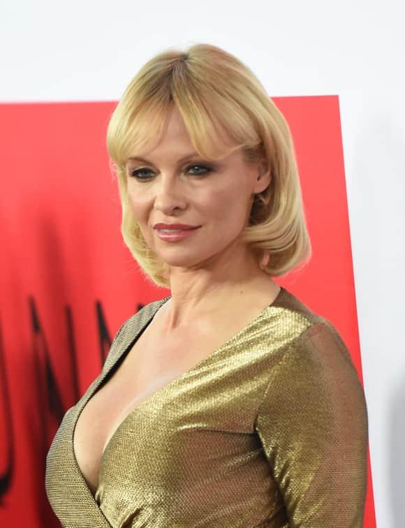 Pamela Anderson im März 2015