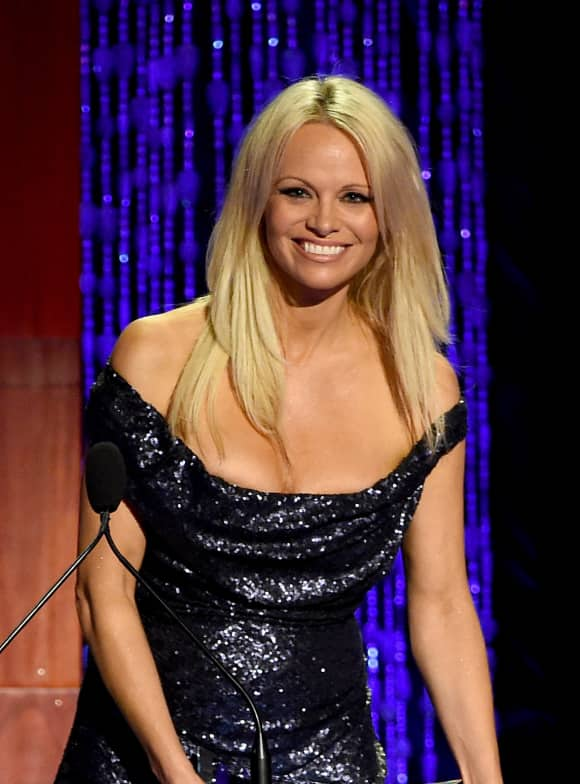 Pamela Anderson is an avid PETA supporter