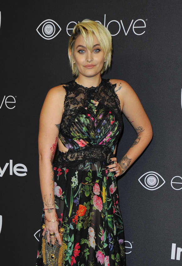 Paris Jackson Golden Globes Dress
