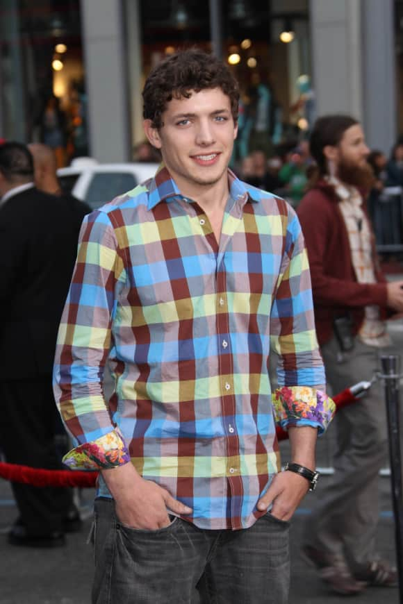 """Parker Bagley at the """"A Nightmare on Elm Street"""" premiere"""
