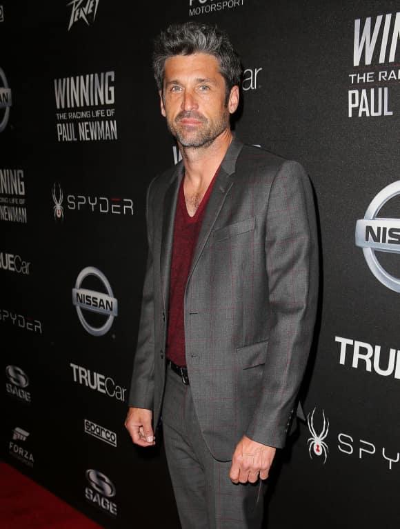 "Patrick Dempsey alias ""Derek Shepard"" in ""Grey's Anatomy"""