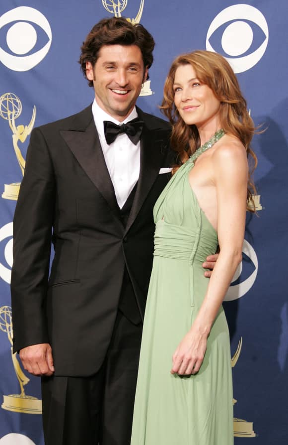 """Grey's Anatomy"": Patrick Dempsey and Ellen Pompeo"